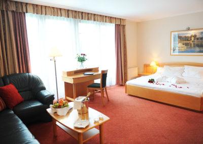 Rosengarten Zahnhotel in Sopron - Zimmer
